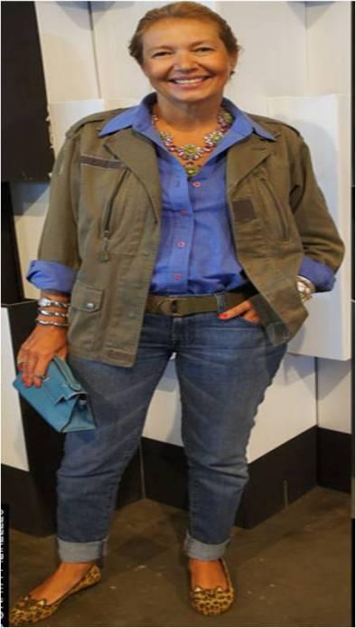Olhem esse colar Prada, da Donata Meirelles, que lindo!